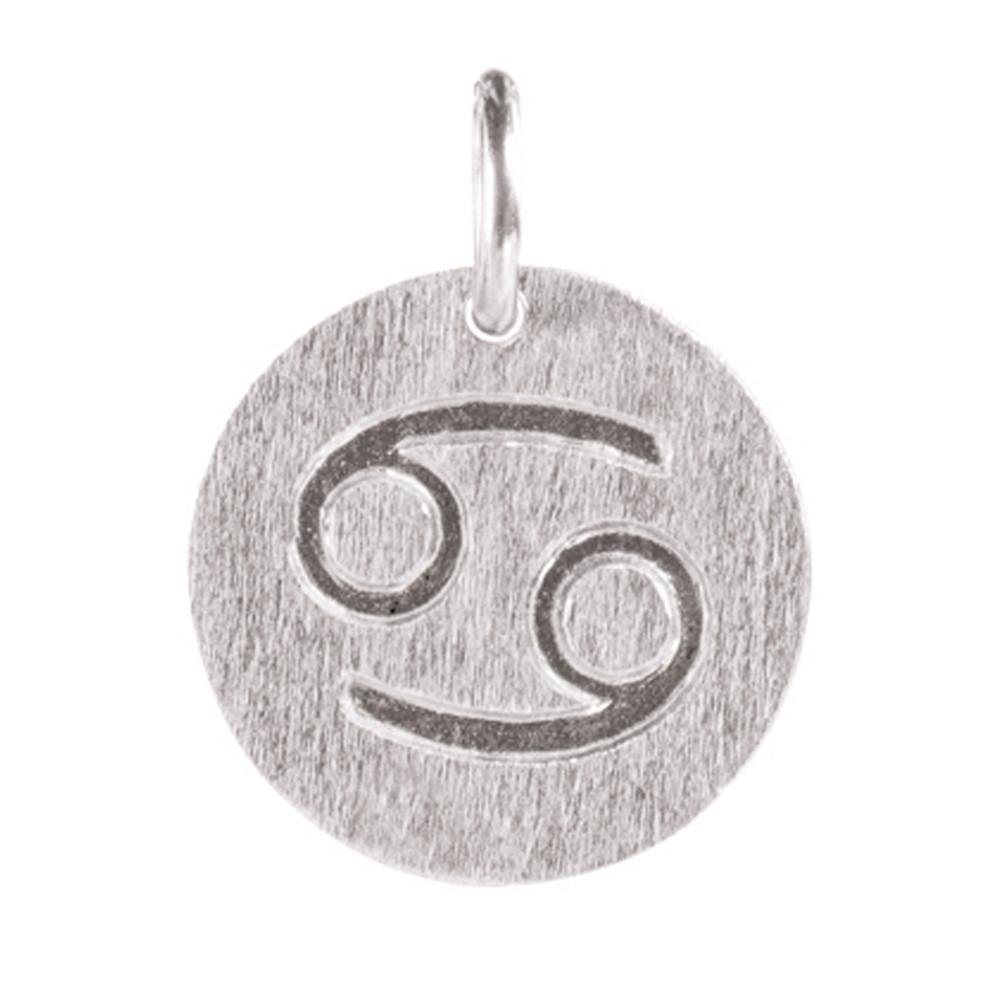 Zodiac Sign Silver Charm - Cancer