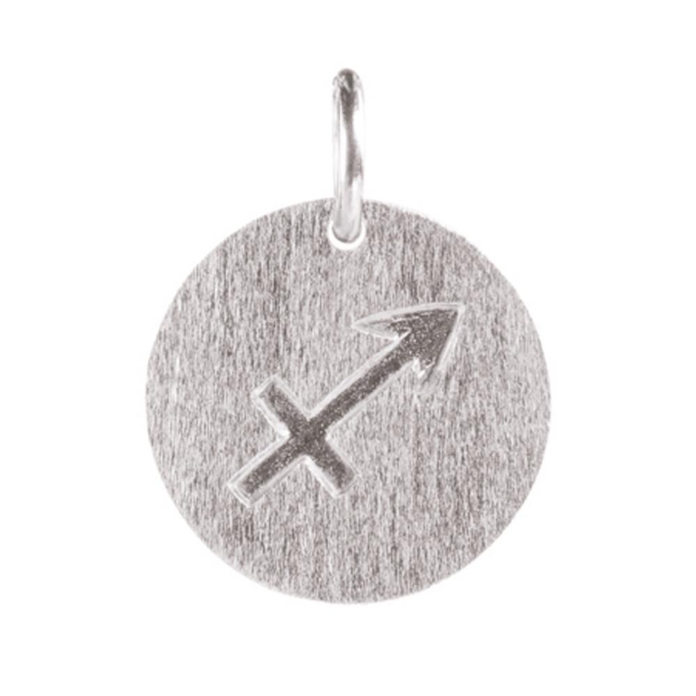 Zodiac Sign Silver Charm - Saggittarius
