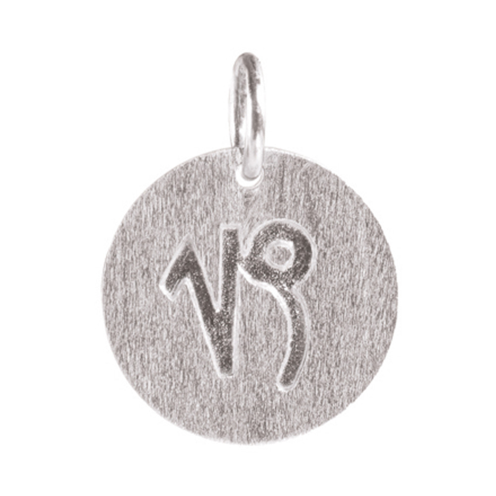 Zodiac Sign Silver Charm - Capricorn