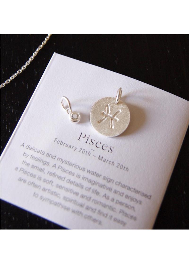 PERNILLE CORYDON Zodiac Sign Silver Charm - Taurus main image