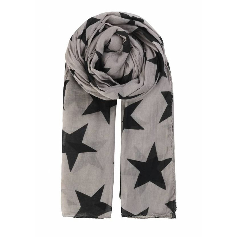 Fine Twiilight Cotton Scarf - Greyish Dream